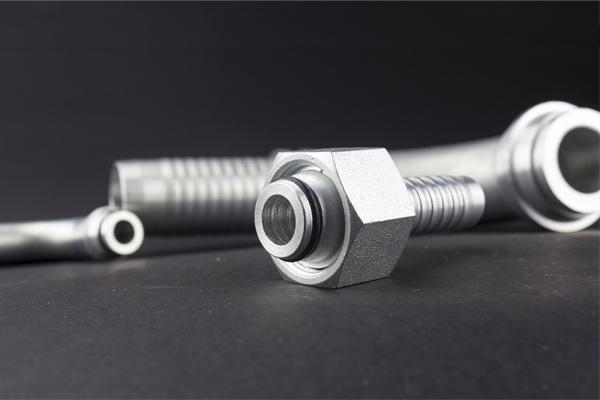 24 graders kegle Metrisk gevind standard DKOL DKOS hydraulisk fitting