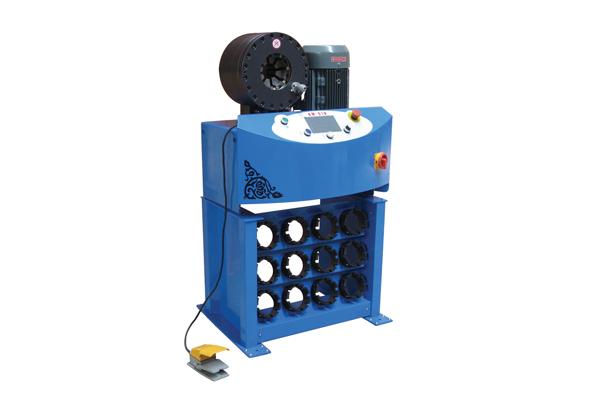 Højtryks hydraulikslangekrympemaskine til fremme af små virksomheder
